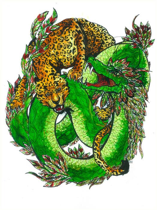 Quetzalcoatl vs Tezcatlipoca