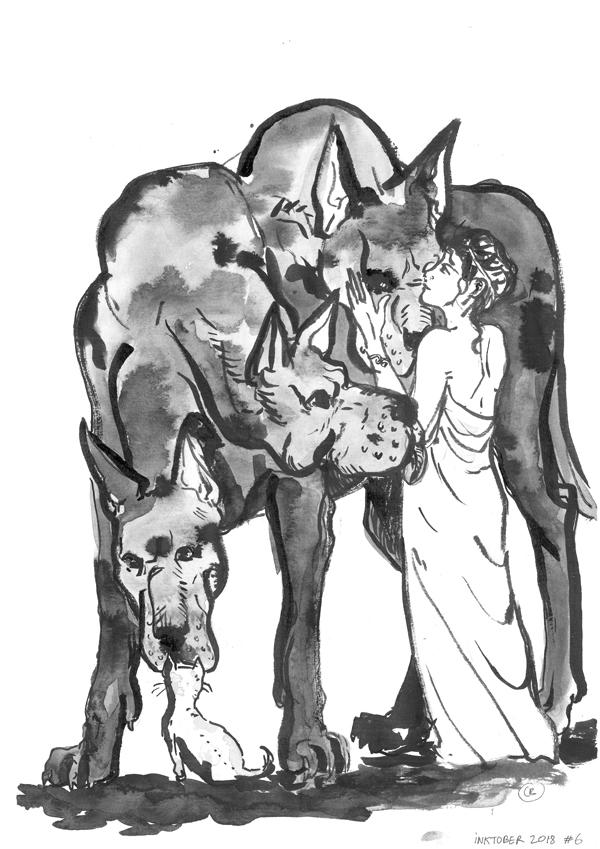 Cerbere & Persephone