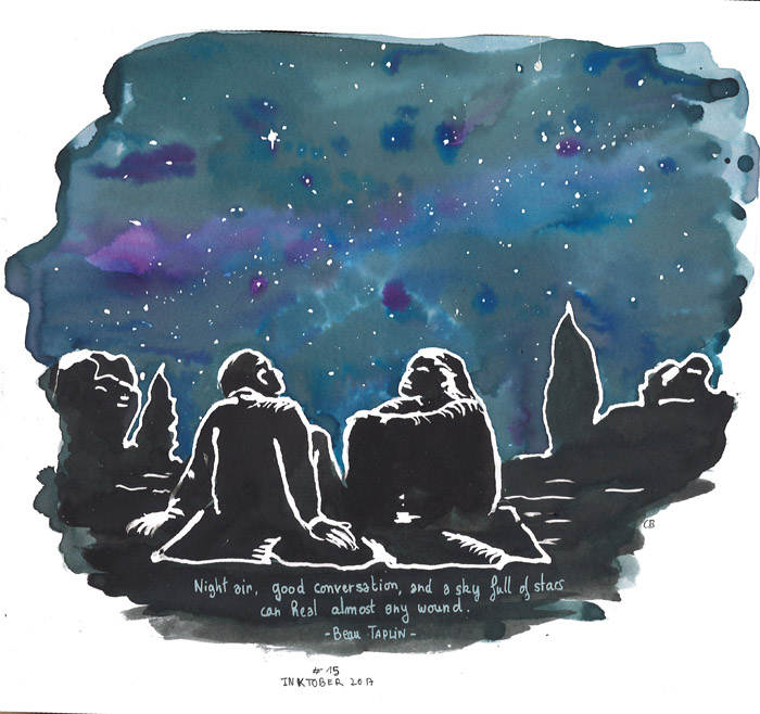And a sky full of stars
